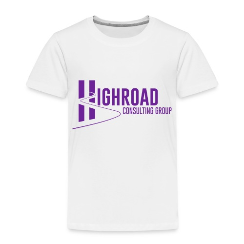 Highroad Logo Overlay Purple - Toddler Premium T-Shirt