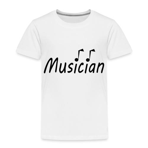 musician black - Toddler Premium T-Shirt