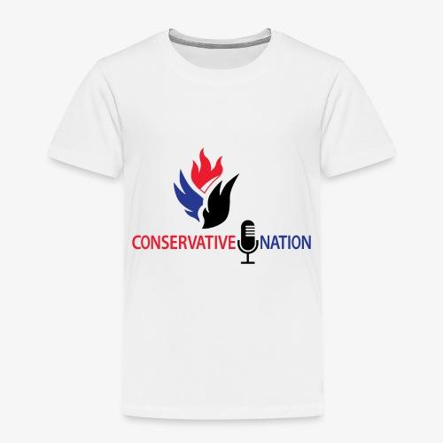 Conservative Nation Double Eagle Collaboration - Toddler Premium T-Shirt