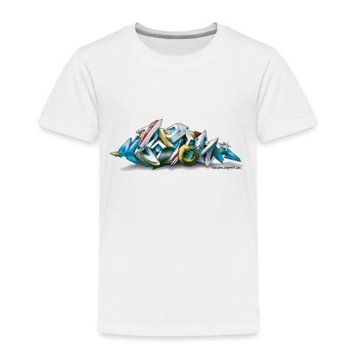 Phame Design for New York Graffiti - 3D Style - Toddler Premium T-Shirt