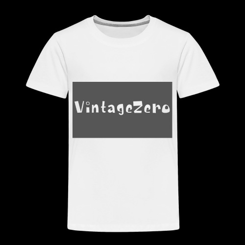 VintageZero - Toddler Premium T-Shirt