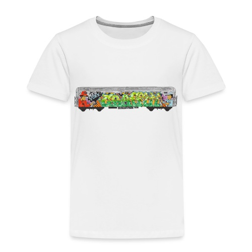 NicOne - NY Graff Design - Toddler Premium T-Shirt