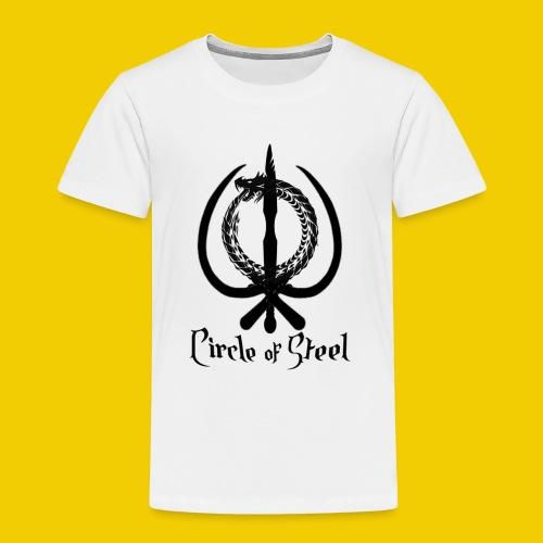 circle_of_steel_logo21 - Toddler Premium T-Shirt