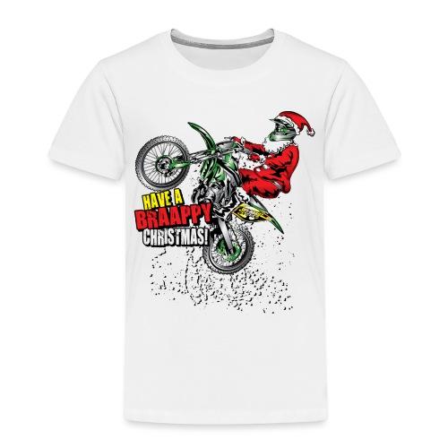 Braappy Christmas Santa - Toddler Premium T-Shirt