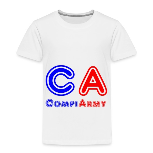 CompiArmy Design | bit.ly/compiarmyyt - Toddler Premium T-Shirt