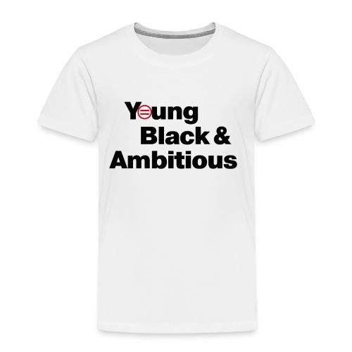 YBA white and gray shirt - Toddler Premium T-Shirt