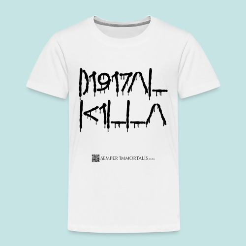 Digital Killa (black) - Toddler Premium T-Shirt