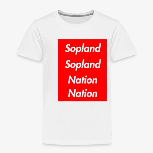 SOPLANDSOPLANDNATIONNATION - Toddler Premium T-Shirt