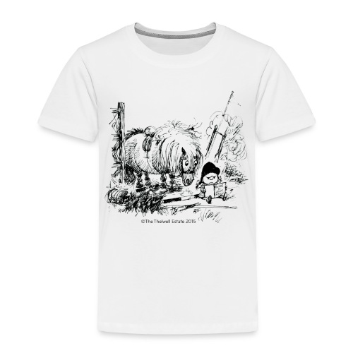 PonyFail Thelwell Cartoon - Toddler Premium T-Shirt