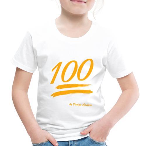 100 ORANGE - Toddler Premium T-Shirt