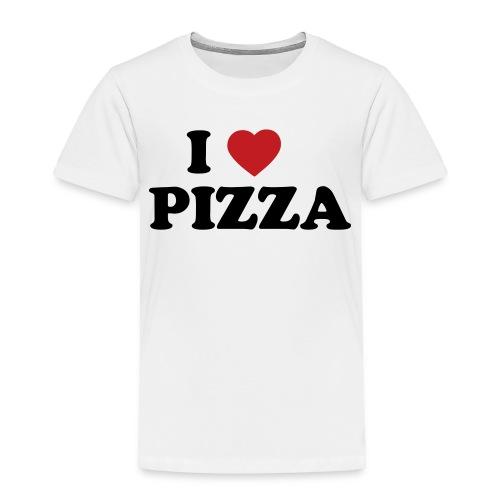 i heart pizza 2 color - Toddler Premium T-Shirt