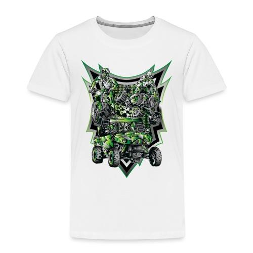 Extreme Life Style Green - Toddler Premium T-Shirt