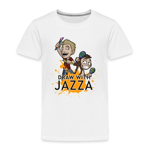 Draw With Jazza - Toddler Premium T-Shirt