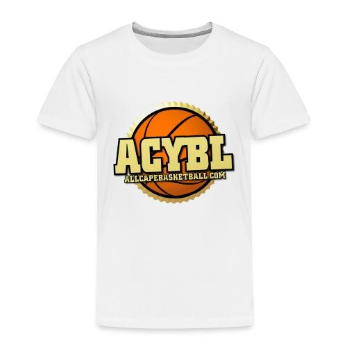 ACYBL ALL CAPE YOUTH BASKETBALL LEAGUE - Toddler Premium T-Shirt