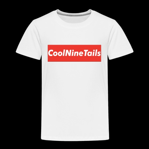 CoolNineTails supreme logo - Toddler Premium T-Shirt