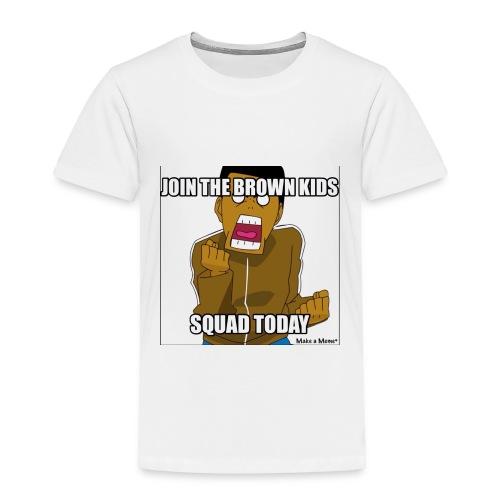 Join The Brown Kids - Toddler Premium T-Shirt
