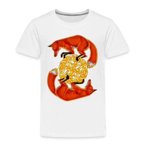 Circling Foxes - Toddler Premium T-Shirt