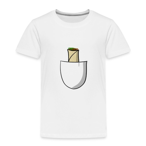 Pocket burrito - Toddler Premium T-Shirt