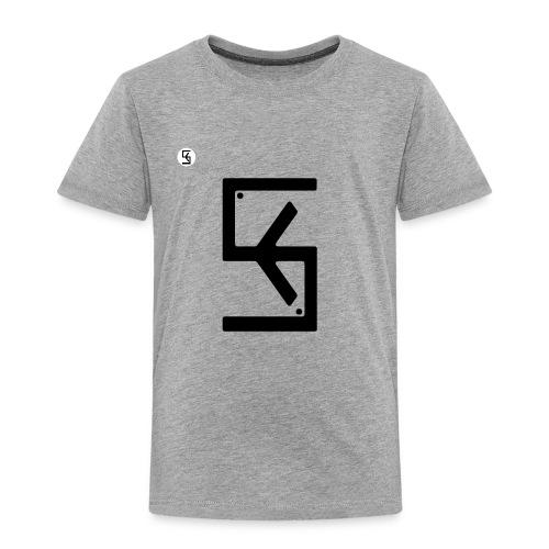 Soft Kore Logo Black - Toddler Premium T-Shirt