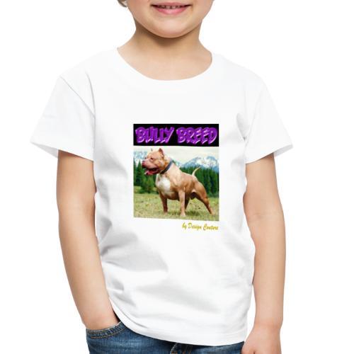 BULLY BREED PURPLE - Toddler Premium T-Shirt