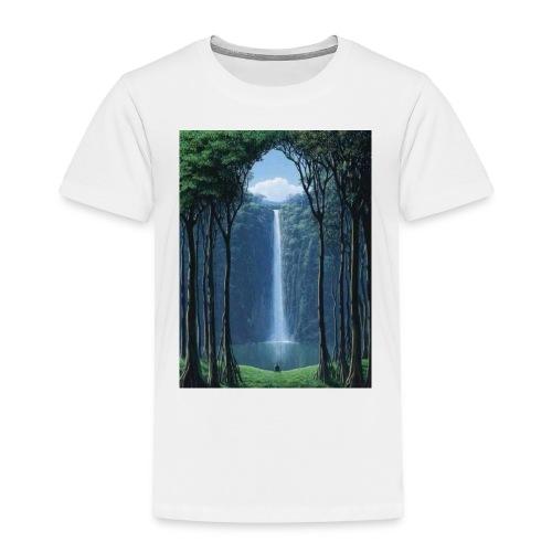 Waterfall lake - Toddler Premium T-Shirt