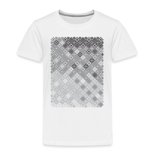 Embroidery pattern - Toddler Premium T-Shirt