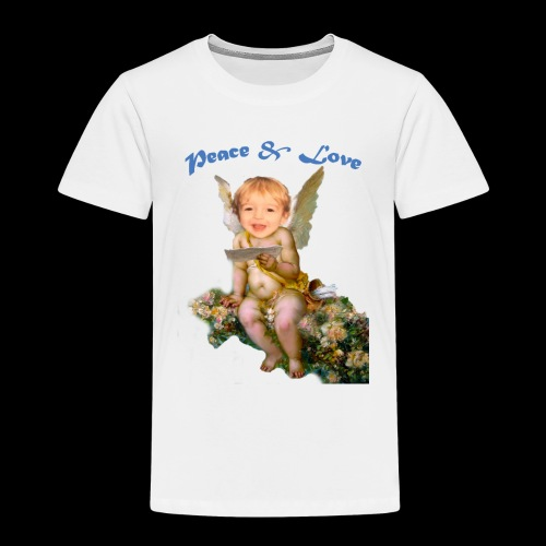 Peace and Love - Toddler Premium T-Shirt
