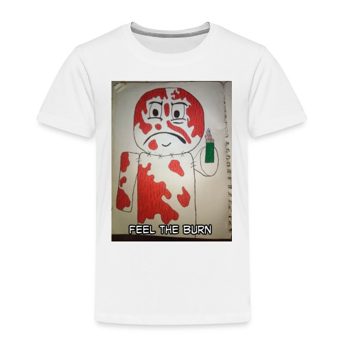 Playing with fire - Toddler Premium T-Shirt