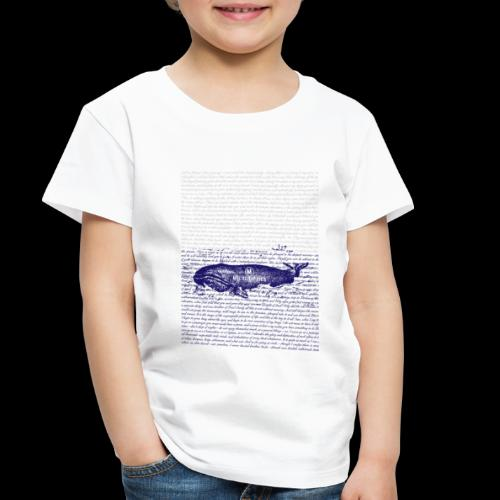 Call Me Ishmael Whale - Toddler Premium T-Shirt