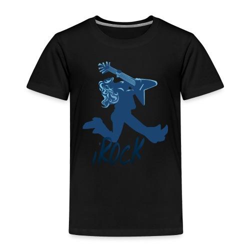 iROCK lettered - Toddler Premium T-Shirt
