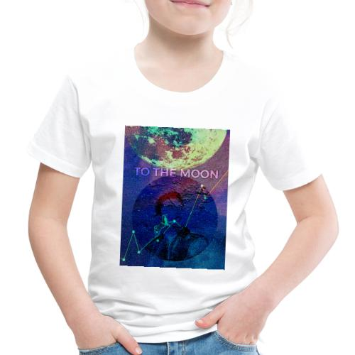 DOGE TO THE MOON - Toddler Premium T-Shirt