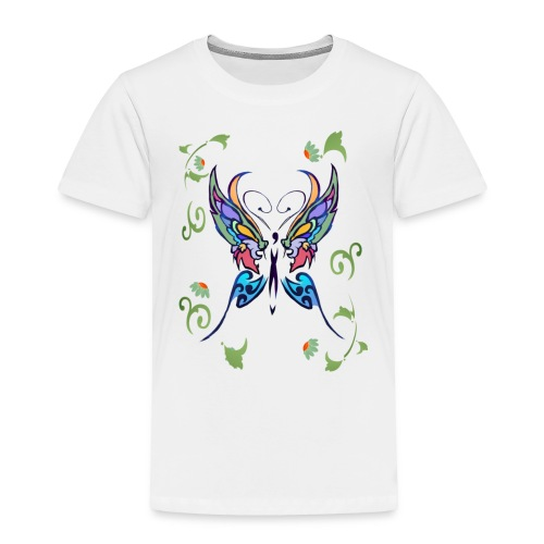 Bright Butterfly - Toddler Premium T-Shirt