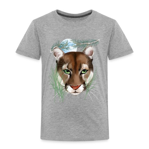 Midnight Puma - Toddler Premium T-Shirt