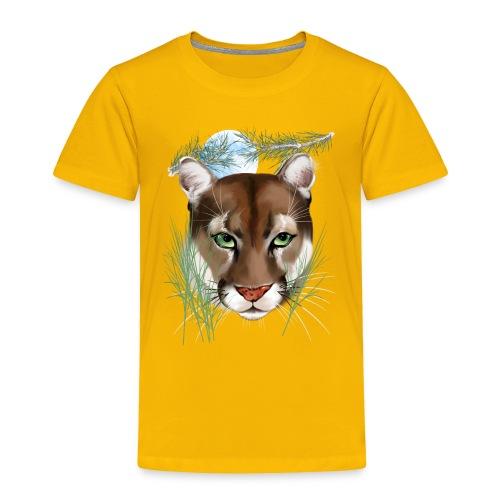 Midnight Puma - Toddler Premium T-Shirt