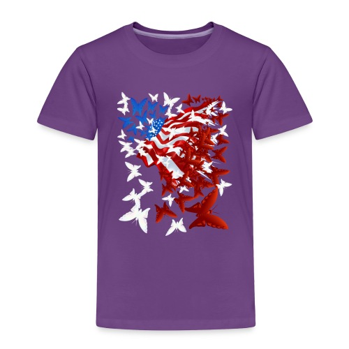 The Butterfly Flag - Toddler Premium T-Shirt