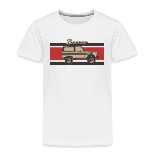Bronco Truck Billet Design Men's T-Shirt - Toddler Premium T-Shirt