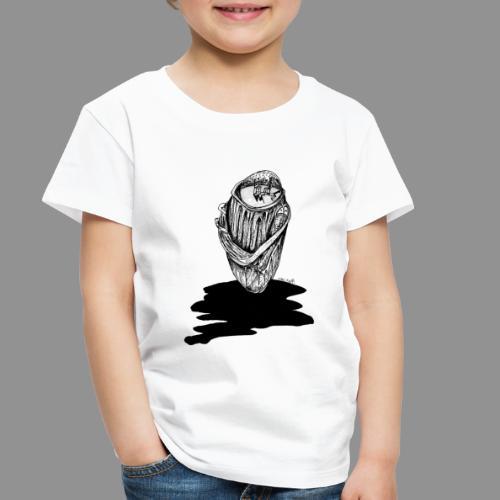 Wolfman Originals Black & White 16 - Toddler Premium T-Shirt