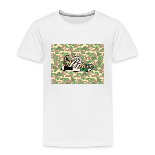 Nmd 'A Bathing Ape - Toddler Premium T-Shirt
