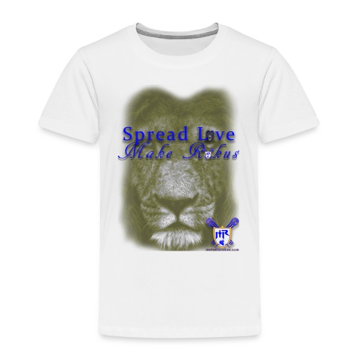 spread love make rukus t - Toddler Premium T-Shirt