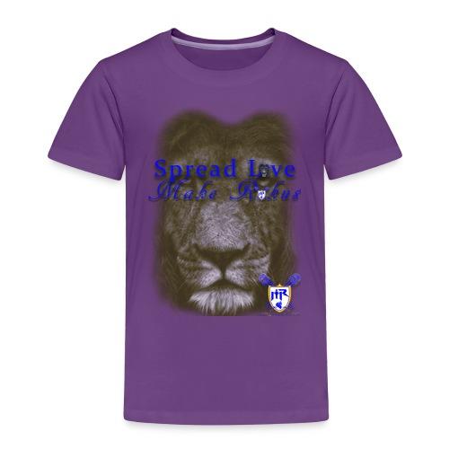 spread love make rukus t - Toddler Premium T-Shirt