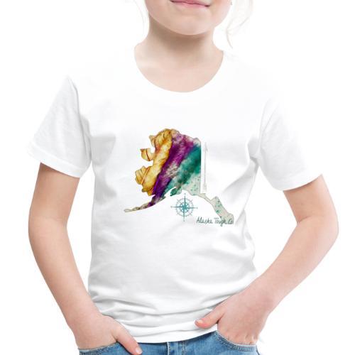 Womens Alaska Feathers Design - Toddler Premium T-Shirt