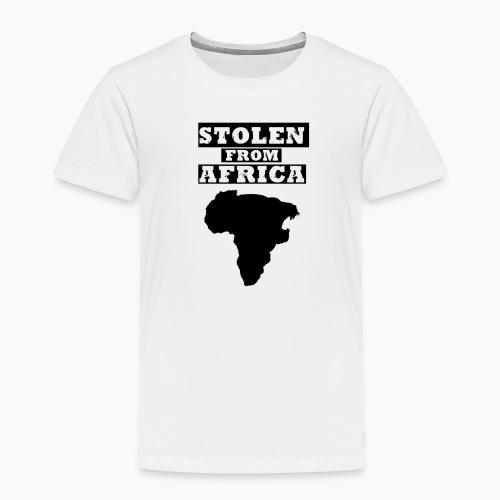 STOLEN FROM AFRICA LOGO - Toddler Premium T-Shirt