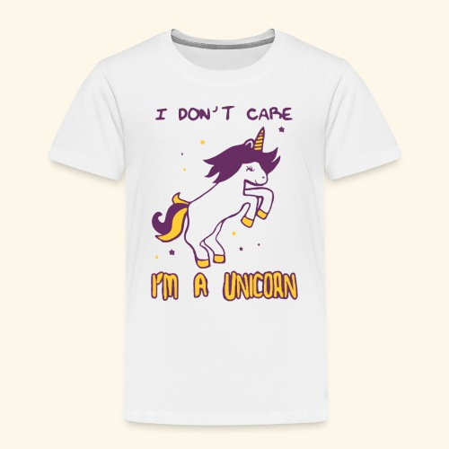 Limited Edition : T-Shirt I'M A UNICORN - Toddler Premium T-Shirt