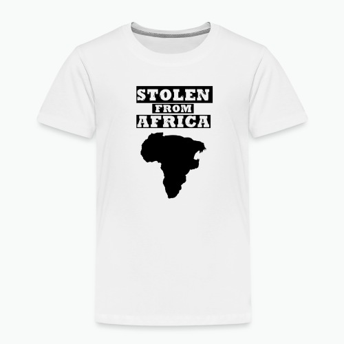STOLEN FROM AFRICA LOGO - Toddler Premium T-Shirt