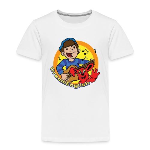 dreamenglishlogo-L - Toddler Premium T-Shirt