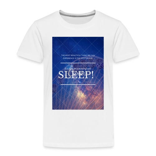 Sleep Galaxy by @lovesaccessories - Toddler Premium T-Shirt