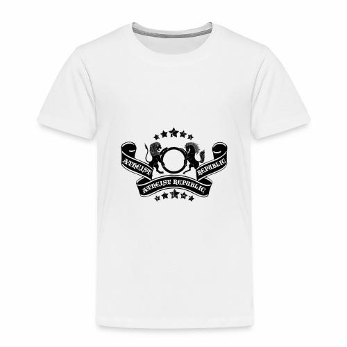 Atheist Republic Logo - Banner & Stars - Toddler Premium T-Shirt