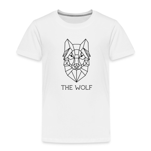 The Wolf - Toddler Premium T-Shirt