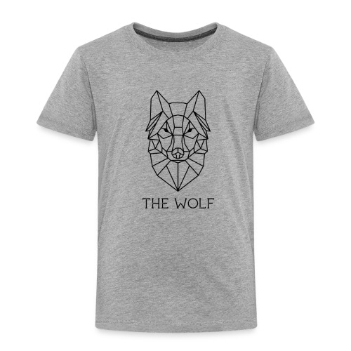 The Wolf - Toddler Premium T-Shirt