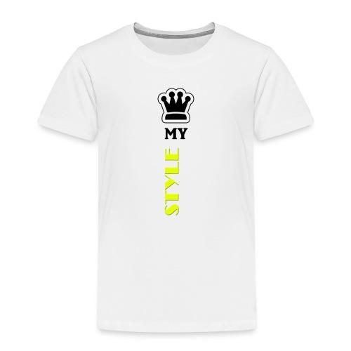 MY STYLE - Toddler Premium T-Shirt